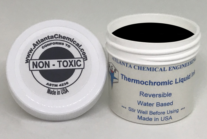 Black-Colorless Thermochromic Liquid Ink