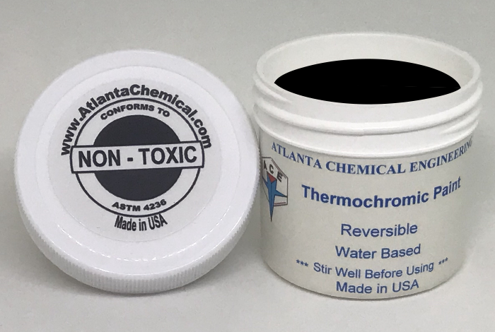 Black-Colorless Thermochromic Paint