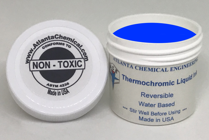 Blue-Colorless Thermochromic Liquid Ink