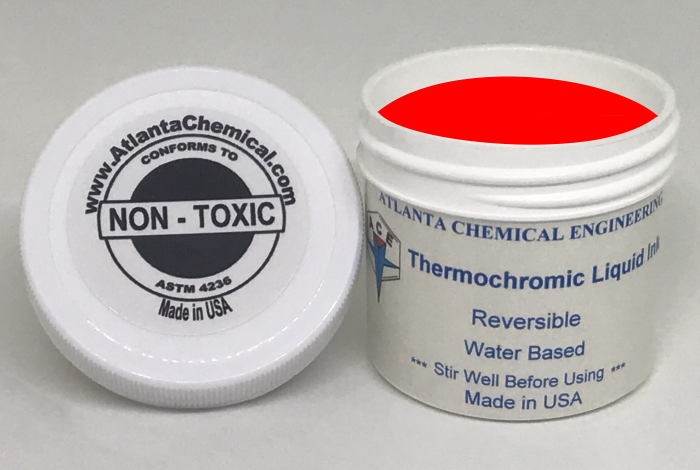 Red-Colorless Thermochromic Liquid Ink