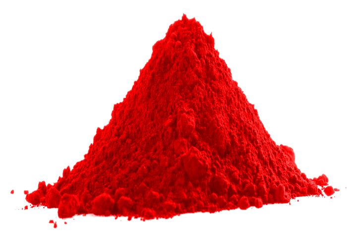 Red-Yellow Thermochromic Powder Pigment