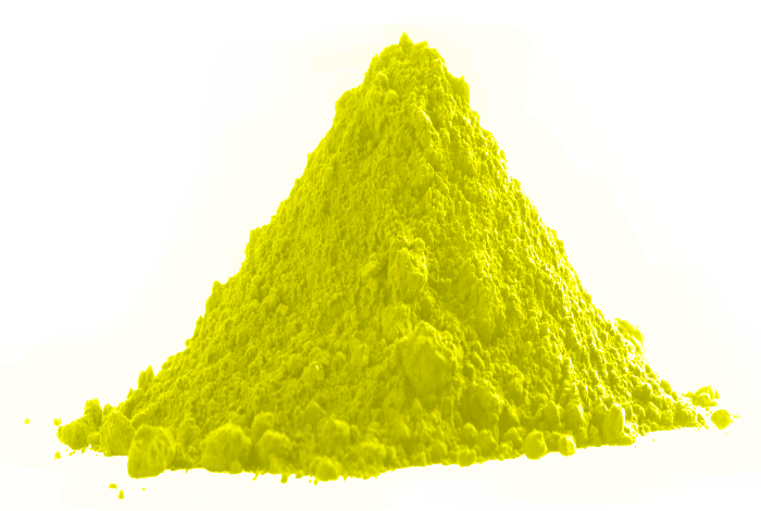 Yellow-Colorless Thermochromic Powder Pigment